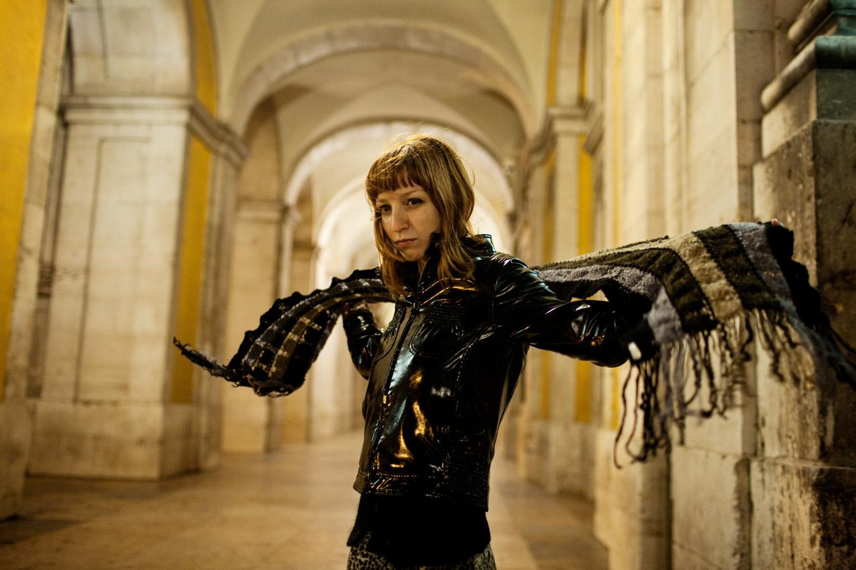 """Sofia Arriscado, musica, vocalista dos """"Blackseat"""" e dos """"Red Fox"""""""