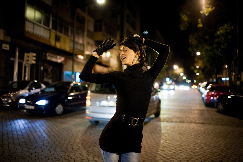 Sasha, 23 anos, transsexual. Prostituta do Conde Redondo.